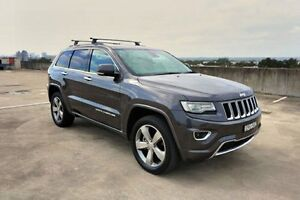 2013 Jeep Grand Cherokee WK MY2014 Overland Grey 8 Speed Sports Automatic Wagon Haymarket Inner Sydney Preview
