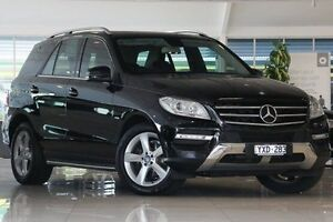 2012 Mercedes-Benz ML250 W166 BlueTEC 7G-Tronic + Black 7 Speed Sports Automatic Wagon Dandenong Greater Dandenong Preview