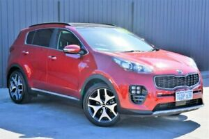 2018 Kia Sportage QL MY18 GT-Line AWD Red 6 Speed Sports Automatic Wagon Midvale Mundaring Area Preview