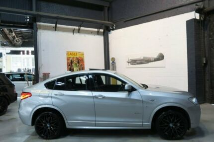 2015 BMW X4 F26 xDrive20i Coupe Steptronic Silver 8 Speed Automatic Wagon Port Melbourne Port Phillip Preview
