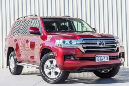 2016 Toyota Landcruiser VDJ200R GXL Red 6 Speed Sports Automatic Wagon