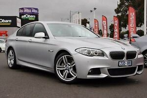 2013 BMW 535D F10 LCI M Sport Steptronic Silver 8 Speed Sports Automatic Sedan Nunawading Whitehorse Area Preview