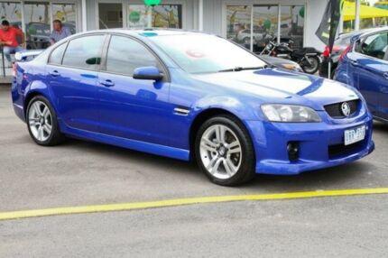 2007 Holden Commodore VE SV6 Blue 6 Speed Manual Sedan Ringwood East Maroondah Area Preview