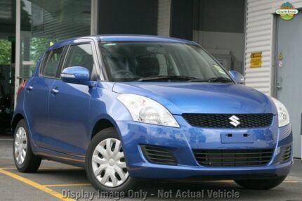 2011 Suzuki Swift FZ GL Blue 4 Speed Automatic Hatchback Cannington Canning Area Preview