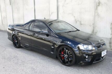 2009 Holden Special Vehicles Maloo E Series 2 R8 Black 6 Speed Manual Utility Mount Hawthorn Vincent Area Preview