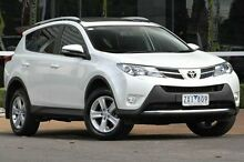 2012 Toyota RAV4 ALA49R Cruiser AWD White 6 Speed Sports Automatic Wagon Ferntree Gully Knox Area Preview