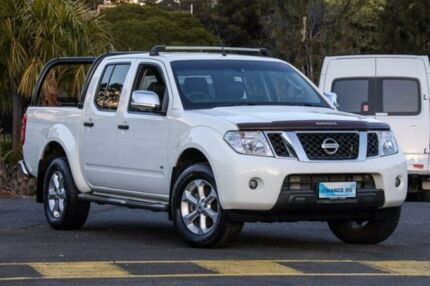 2011 Nissan Navara D40 S6 ST-X White Sports Automatic Utility Ringwood East Maroondah Area Preview
