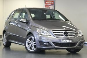 2011 Mercedes-Benz B180 W245 MY11 Grey 1 Speed Constant Variable Hatchback Chatswood Willoughby Area Preview