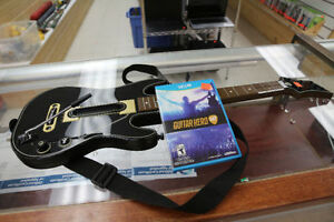 **BUNDLE** Wii U Guitar Hero Live