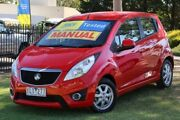 2011 Holden Barina Spark MJ MY11 CD Red 5 Speed Manual Hatchback Ferntree Gully Knox Area Preview