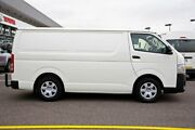 2015 Toyota Hiace KDH201R LWB White 4 Speed Automatic Van Strathmore Moonee Valley Preview