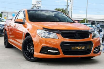 2013 Holden Ute VE II MY12.5 SS V Z Series Orange 6 Speed Manual Utility Gymea Sutherland Area Preview