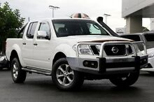 2012 Nissan Navara D40 S5 MY12 ST-X 550 White 7 Speed Sports Automatic Utility Gymea Sutherland Area Preview