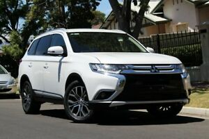 2016 Mitsubishi Outlander ZK MY16 XLS 4WD White 6 Speed Sports Automatic Wagon Nailsworth Prospect Area Preview