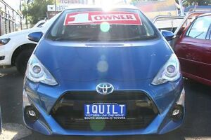 2015 Toyota Prius c NHP10R MY15 I-Tech Hybrid Blue Continuous Variable Hatchback Briar Hill Banyule Area Preview