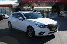 2014 Mazda 3 BM SP25 Astina White 6 Speed Automatic Hatchback South Maitland Maitland Area Preview