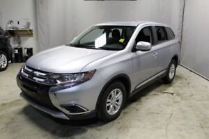 2017 Mitsubishi Outlander AWC ES Heated Seats,  Back-up Cam,  Bl