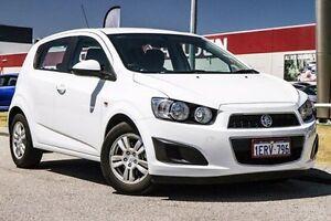 2014 Holden Barina TM MY14 CD White 5 Speed Manual Hatchback East Rockingham Rockingham Area Preview