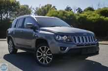 2014 Jeep Compass MK MY14 Limited Grey 6 Speed Sports Automatic Wagon Hillman Rockingham Area Preview