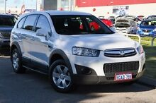 2012 Holden Captiva CG Series II 7 SX White 6 Speed Sports Automatic Wagon East Rockingham Rockingham Area Preview