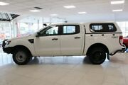 2012 Ford Ranger PX XL Double Cab White 6 Speed Manual Utility Dandenong Greater Dandenong Preview