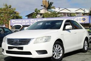 2011 Toyota Aurion GSV40R MY10 AT-X White 6 Speed Sports Automatic Sedan Greenslopes Brisbane South West Preview