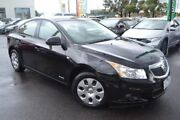 2011 Holden Cruze JH Series II MY11 CD Black 6 Speed Sports Automatic Sedan Hoppers Crossing Wyndham Area Preview