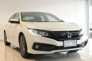 2019 Honda Civic 10th Gen MY19 VTi-S White 1 Speed Constant Variable Sedan Strathmore Heights Moonee Valley Preview