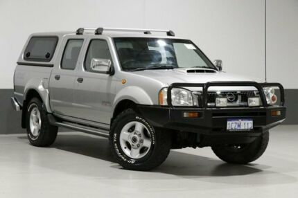 2008 Nissan Navara D22 MY08 ST-R (4x4) Silver 5 Speed Manual Dual Cab Pick-up Bentley Canning Area Preview