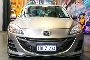 2010 Mazda 3 BL10F1 Neo Grey 6 Speed Manual Sedan Northbridge Perth City Area Preview