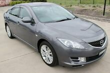 2008 Mazda 6 GH Classic Grey 5 Speed Auto Activematic Hatchback Argenton Lake Macquarie Area Preview