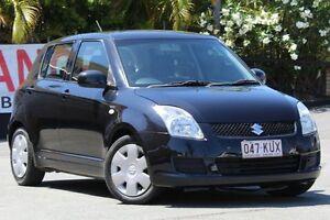 2008 Suzuki Swift RS415 GLX Black 5 Speed Manual Hatchback Kedron Brisbane North East Preview