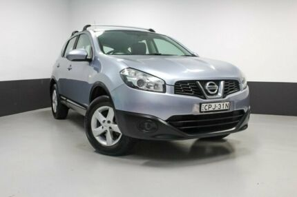 2013 Nissan Dualis J10W Series 3 MY12 ST Hatch 2WD Mineral Grey 6 Speed Manual Hatchback