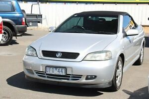 2006 Holden Astra TS MY06 Silicon Silver 4 Speed Automatic Convertible Heatherton Kingston Area Preview