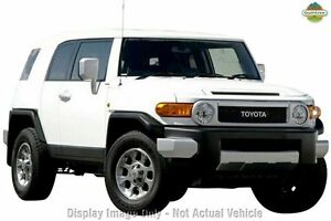 2013 Toyota FJ Cruiser GSJ15R White Solid 5 Speed Automatic Wagon Upper Ferntree Gully Knox Area Preview
