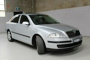 2008 Skoda Octavia 1Z Ambiente Silver 6 Speed Sports Automatic Dual Clutch Sedan Knoxfield Knox Area Preview