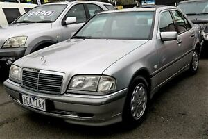 1999 Mercedes-Benz C200 W202 Elegance Silver 5 Speed Automatic Sedan Ringwood East Maroondah Area Preview