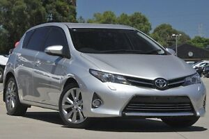 2013 Toyota Corolla ZRE182R Levin ZR Silver 7 Speed CVT Auto Sequential Hatchback Greenacre Bankstown Area Preview
