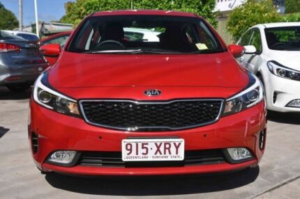 2017 Kia Cerato YD MY18 S Red 6 Speed Sports Automatic Hatchback