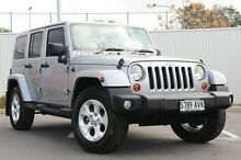 2012 Jeep Wrangler JK MY2013 Unlimited Overland Silver 5 Speed Automatic Hardtop Nailsworth Prospect Area Preview
