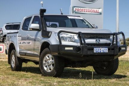 2012 Holden Colorado RG MY13 LX Crew Cab Silver 5 Speed Manual Utility