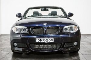 2013 BMW 118d E88 LCI MY1112 Steptronic Blue 6 Speed Sports Automatic Convertible Rozelle Leichhardt Area Preview