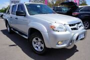 2009 Mazda BT-50 UNY0E4 DX 4x2 Silver 5 Speed Manual Utility Phillip Woden Valley Preview