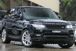 2013 Land Rover Range Rover LW Sport 5.0 V8 SC HSE Dynamic Black 8 Speed Automatic Wagon Petersham Marrickville Area Preview