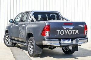 2016 Toyota Hilux GUN126R SR5 Double Cab Grey 6 Speed Sports Automatic Utility Willetton Canning Area Preview