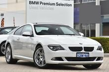 2010 BMW 650i E63 MY10 Sport Steptronic White 6 Speed Sports Automatic Coupe Victoria Park Victoria Park Area Preview