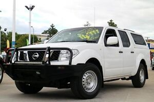2013 Nissan Navara D40 S7 MY12 RX 4x2 White 5 Speed Automatic Utility Greenslopes Brisbane South West Preview