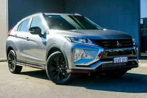 2018 Mitsubishi Eclipse Cross YA MY19 Black Edition 2WD Titanium 8 Speed Constant Variable Wagon Osborne Park Stirling Area Preview
