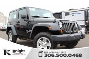 2012 Jeep Wrangler Sport - Manual Transmission - CD Player