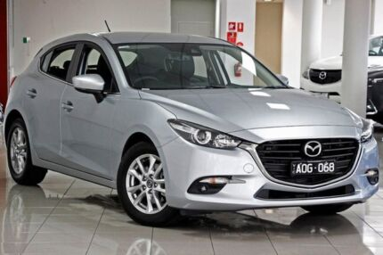 2017 Mazda 3 BN5478 Touring SKYACTIV-Drive Sonic Silver 6 Speed Sports Automatic Hatchback